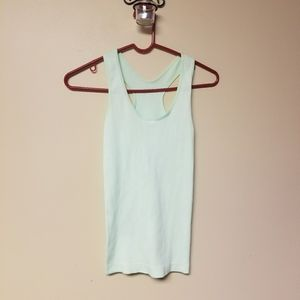 Color Story Ribbed Tank Top NWOT (A14)